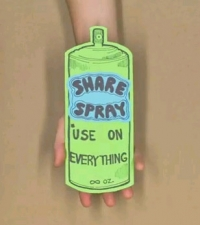 Share Spray: A New Way to Do Everything